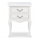 Ivory French Inspired Bedside Chest