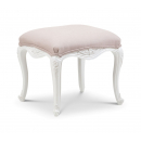 Ivory French Inspired Dressing Table Stool