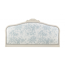 Ivory Upholstered French Headboard