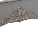 Loire French Rattan Bed Ornate Carved Details