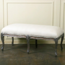 Louis French Bed End Stool