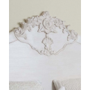 Lyon French Headboard - Carved Details View