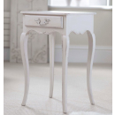 Lyon Bedside Table - Finished in Chalk