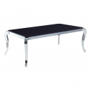 Black Marble Top Dining Table