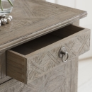 Camille French Style Weathered Drawer