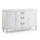 Provencale Antique White 3 Drawer Sideboard