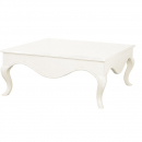 Provencale Antique White French Square Coffee Table