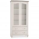 Richmond Contemporary Soft Grey Display Cabinet