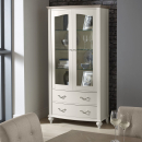 Richmond Washed Oak Display Cabinet