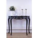 Rochelle Noir French Console Table