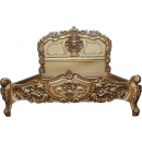 Rococo Gold Painted Bed