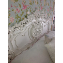 Rococo French White Headboard - In Situe