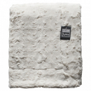 Stellan Fur Throw Cream