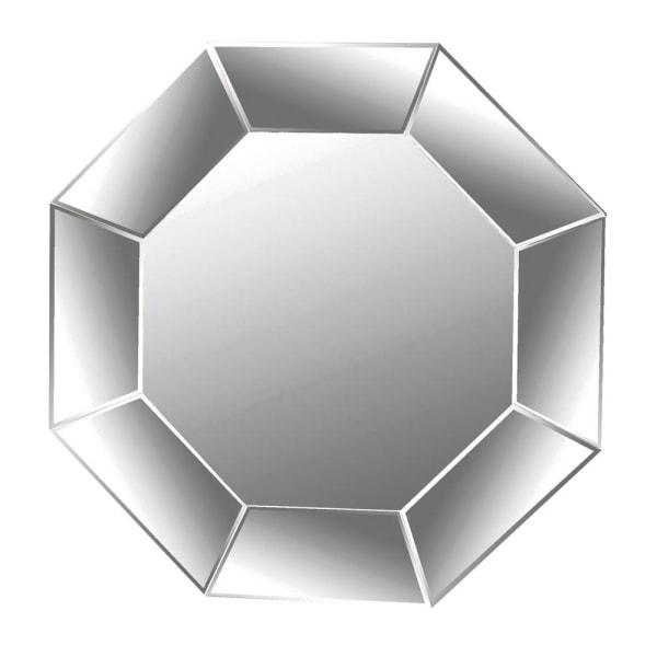 Octagonal Contemporary Mirror