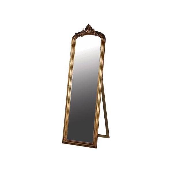 Antiqued Gold Dressing Mirror