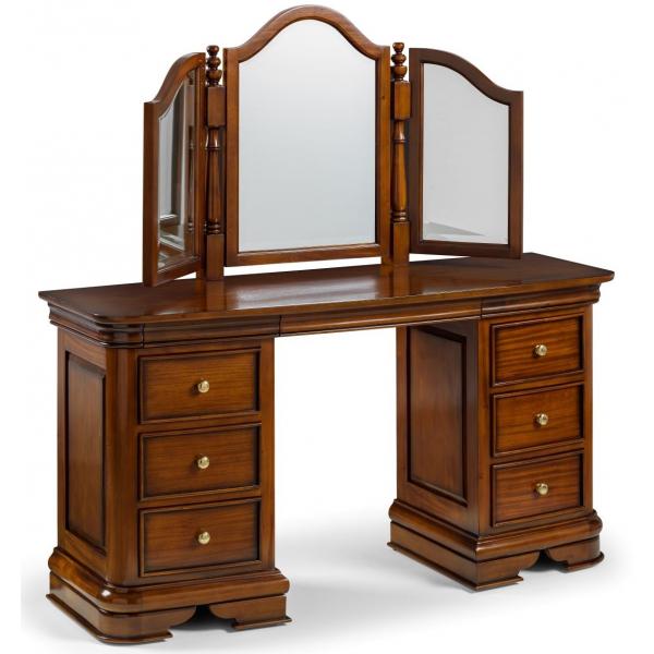 Antoinette French Sleigh Dressing Table