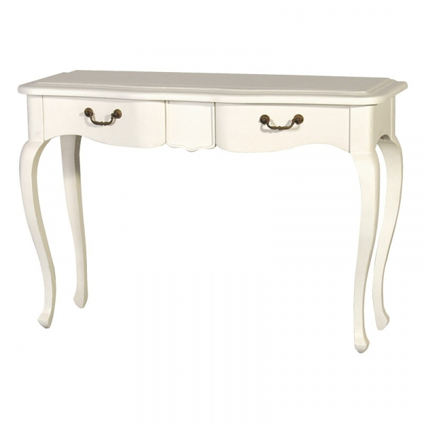 Chantilly French Antique Cream Hall Table