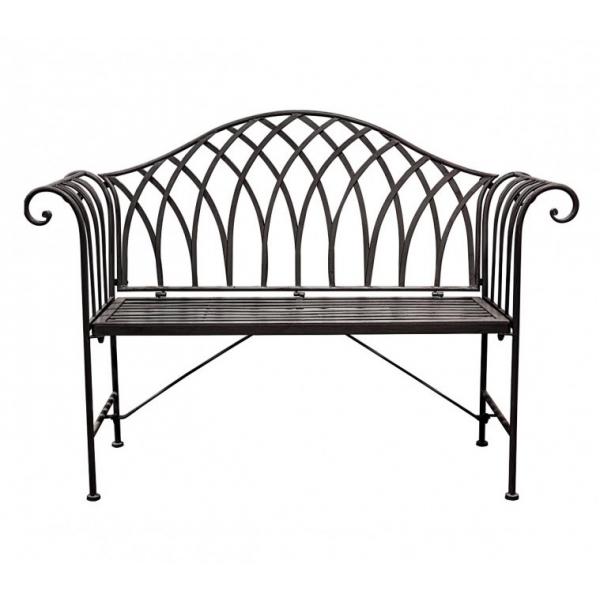 Duchess Outdoor Bench Noir