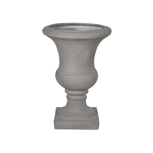 Grey Stone Effect garden Urn