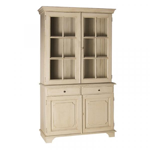 Loire Light Grey French Glazed Dresser