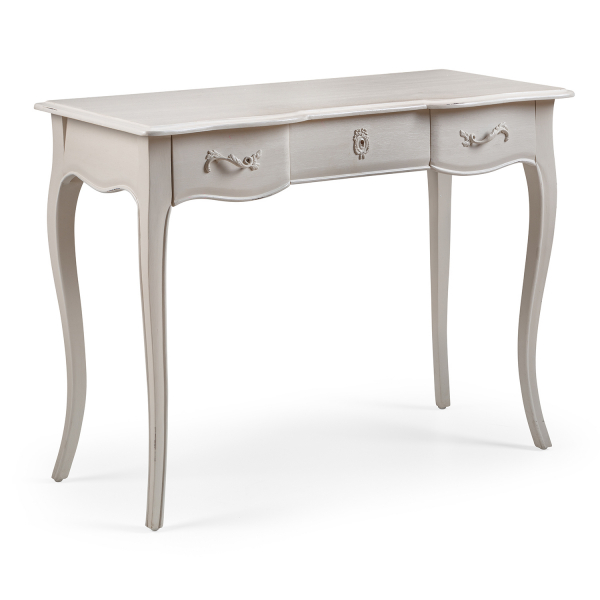 Louis French Style Small Desk / Dressing Table with 3 Drawers