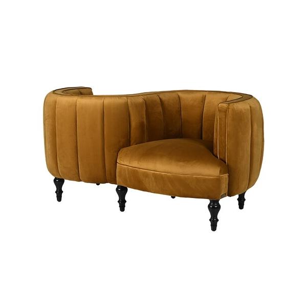 Mustard Opposites Chair