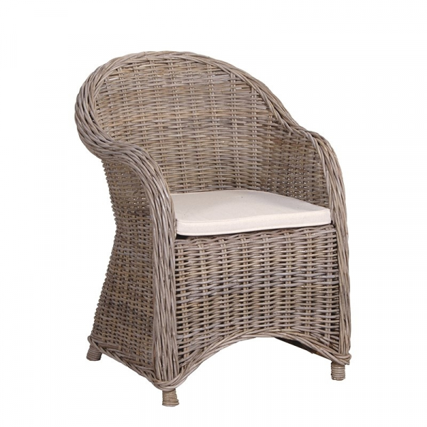 Outdoor Garden Armchair with Cushion