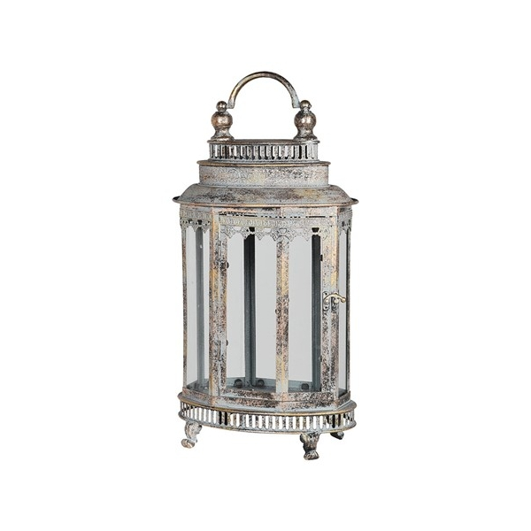 Small Oval Metal Lantern