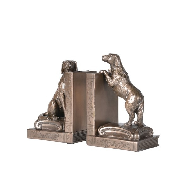 Spaniels Dogs Bookends