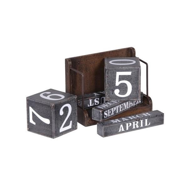 Square block calendar